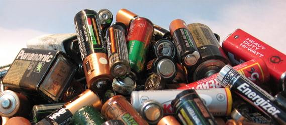 reciclado de pilas